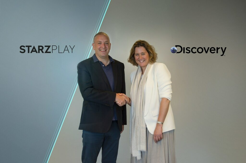 Discovery and STARZPLAY